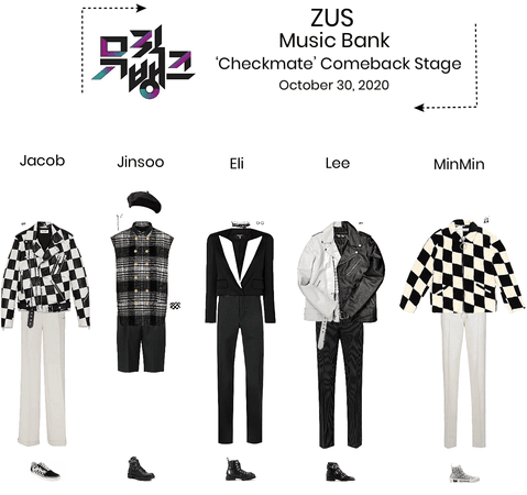 Zus// 'Checkmate' Music Bank Comeback Stage