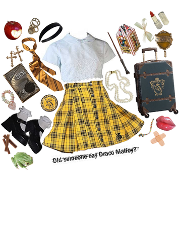 Ophelia, the hufflepuff who's in love draco malory