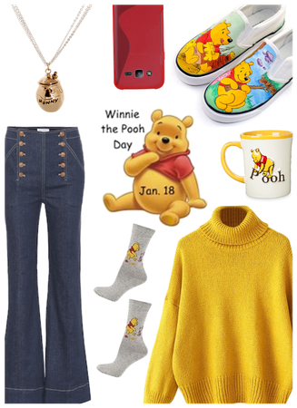Winnie the pooh day inspired