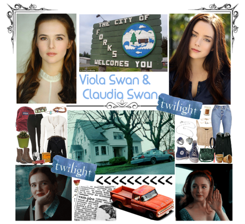 The Swan Sisters Viola & Claudia | Twilight OC