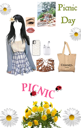out to picnic 🧺 ✨🥰