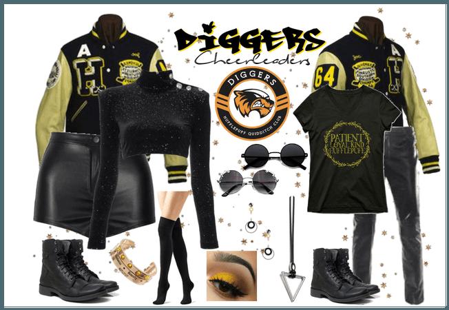 Diggers Cheerleaders - Uniform #5
