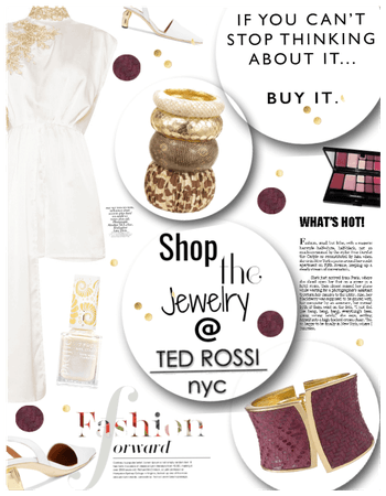 Shop my Jewelry look/Ted rossi/Romper