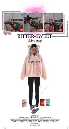 BITTER-SWEET [비터스윗] Surprise vLive App 200122