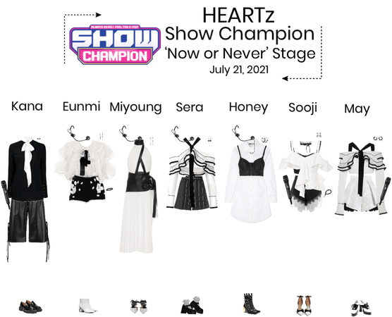 HEARTz//'Now or Never' Show Champion Stage