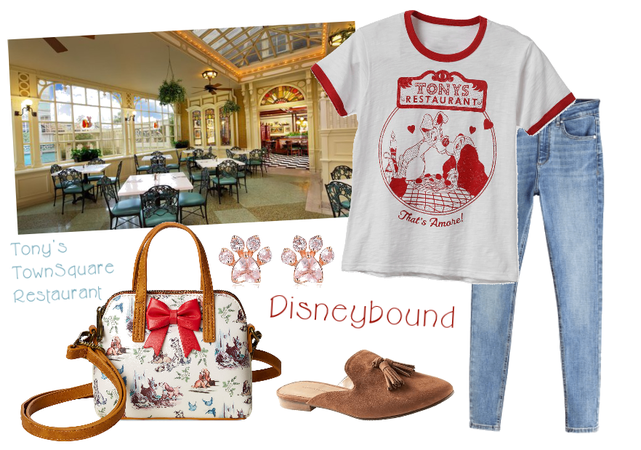 Disneybound Tony's Town Square Restaurant