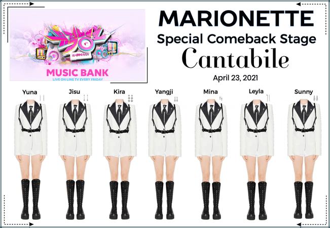 마리오네트 (MARIONETTE) - [MUSIC BANK] Special Comeback Stage