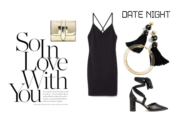Little Black Dress - Vday Outfit