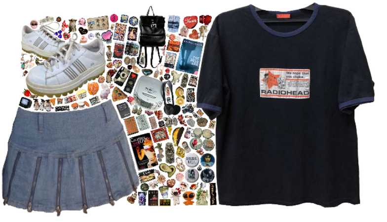 styling a band tee