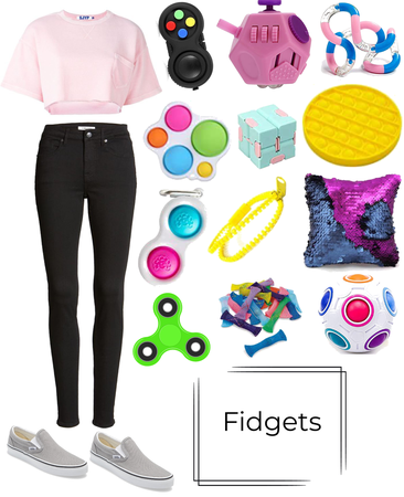 fidget girl/outfit