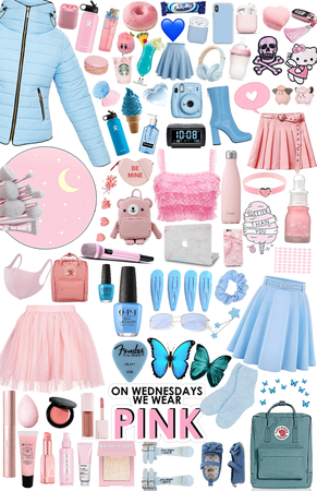 Blue and Pink!!!