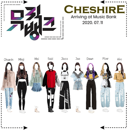 Cheshire (체셔) Arriving at Music Bank 2020. 07. 11