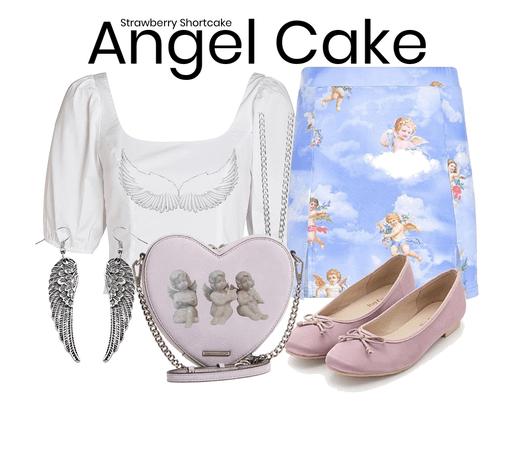 angel cake 🍰