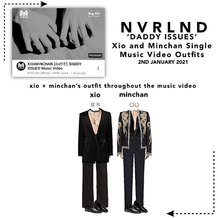 NVRLND [못나라] 'DADDY ISSUES' Music Video Outfits