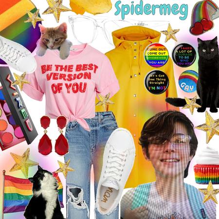 for @spidermeg /sparkle fingers