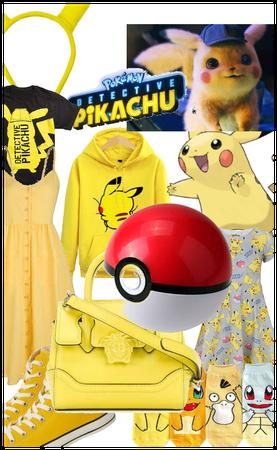 Awww a cute pikachu outfit!!♡♡