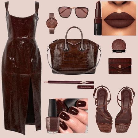 Match your Lipstick - Reddish Brown