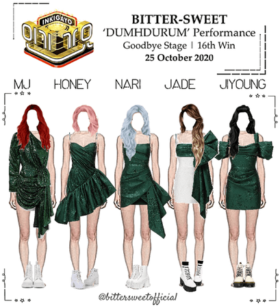 BITTER-SWEET [비터스윗] Inkigayo 201025