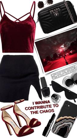 Red & Black🖤♥️