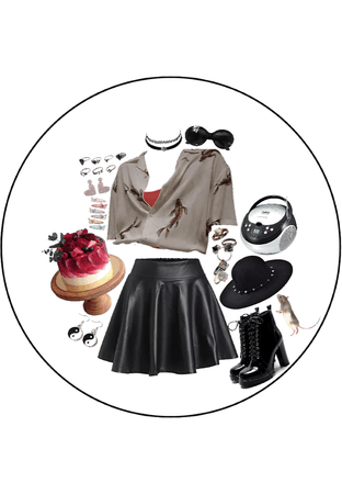 if you were on the emo side of polyvore, we're friends