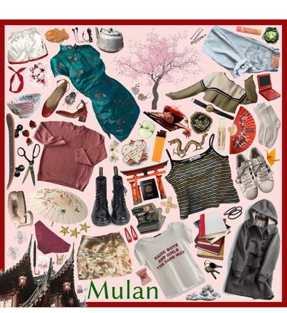 Mulan Moodboard