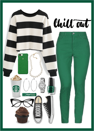 Chill Out—Black & Green Challenge