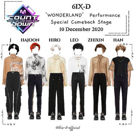 6IX-D [씩스띠] M Countdown 201210