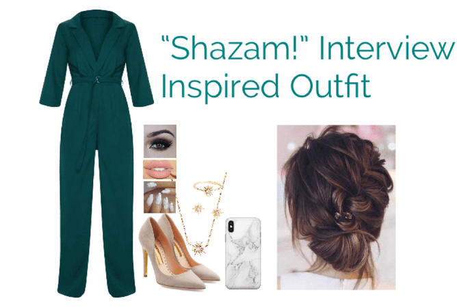 """""""Shazam!"""" Interview Inspired Outfit"""