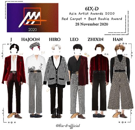6IX-D [씩스띠] Asia Artist Awards 2020 201128