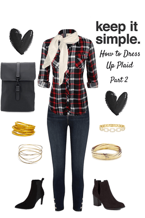 How to Dress Up Flannel Part 2
