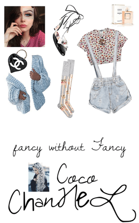 fancy without Fancy coco channel