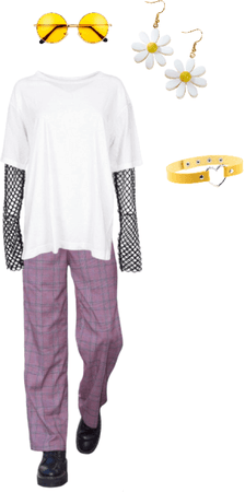 Nonbinary Flag Inspired Androgynous Outfit