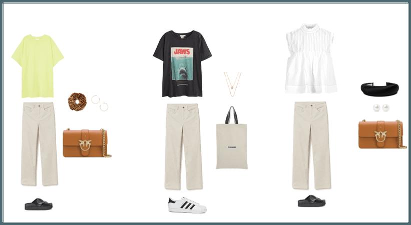 white jeans ideas