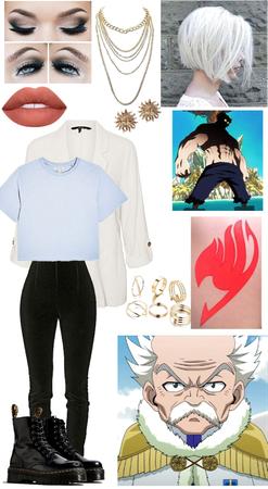 Fairy Tail Makarov Dreyar outfit 1