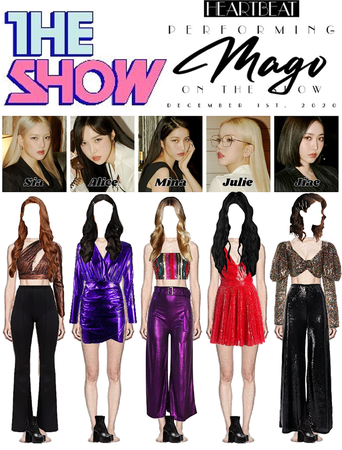 201201 THE SHOW STAGE | 'MAGO'