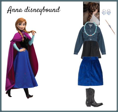 Anna Disneybound
