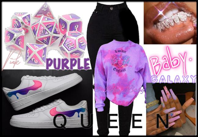 Pink in Purple!💜💗