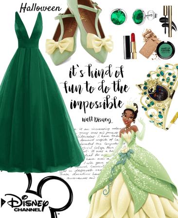 DIY: Disney princess Tiana