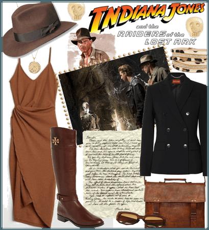 Indiana Jones Halloween Costume