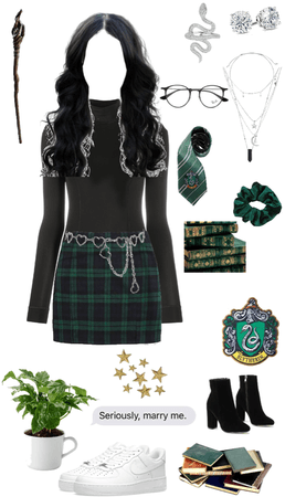 My Slytherin Outfit