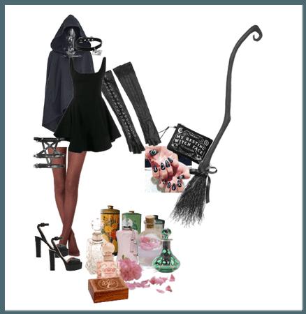 Mistress Black: Witch