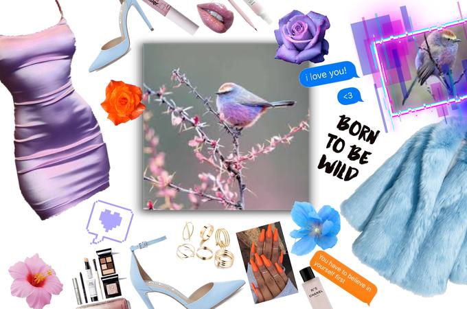Sophie Bird 💜🧡💙 -for Sophie Bird challenge-