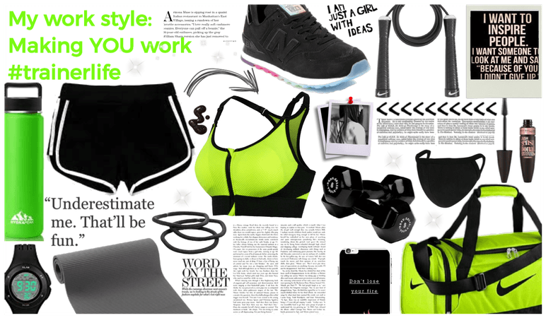 my work style: trainer life #trainer life