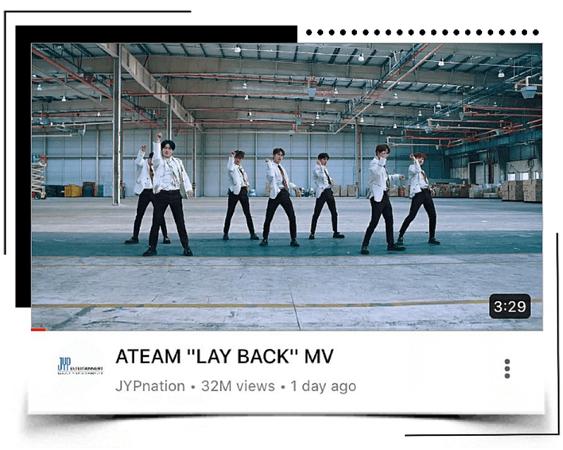 "[ATEAM DEBUT] ""LAY BACK"" MV"