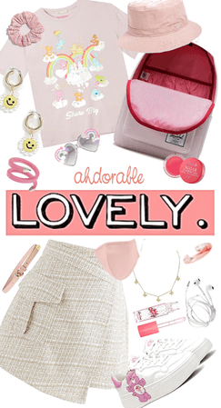 Cute Soft Girl Back to School Outfit