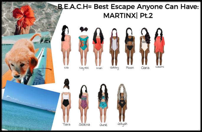B.E.A.C.H= Best Escape Anyone Can Have~Pt.2