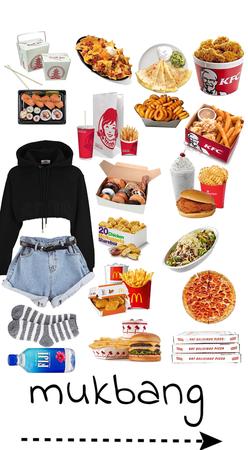 fast food mukbang