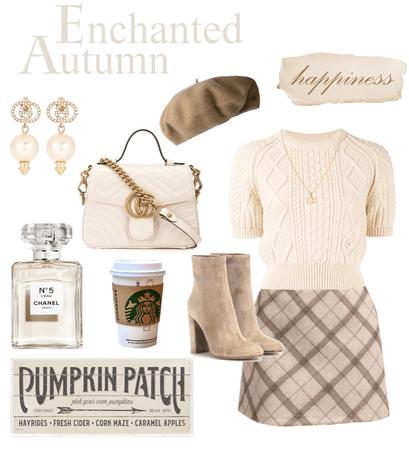 Enchanted Autumn 🤍🏹