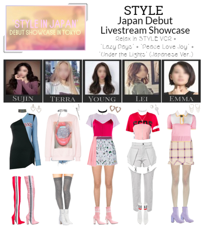 "STYLE ""STYLE in Japan"" Debut Showcase"
