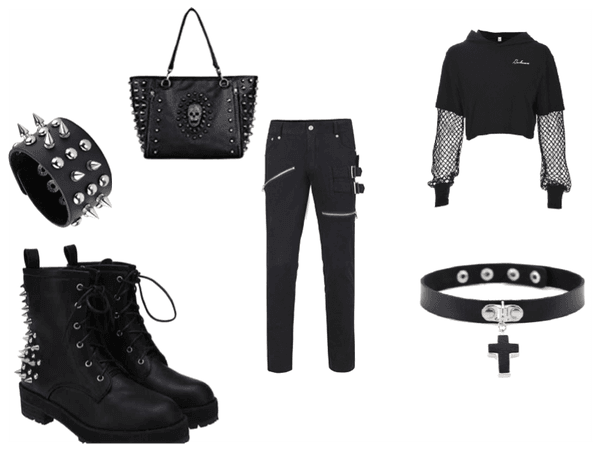 punk rock black
